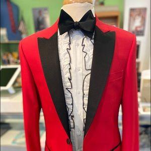 Men's slim fit tuxedo coat